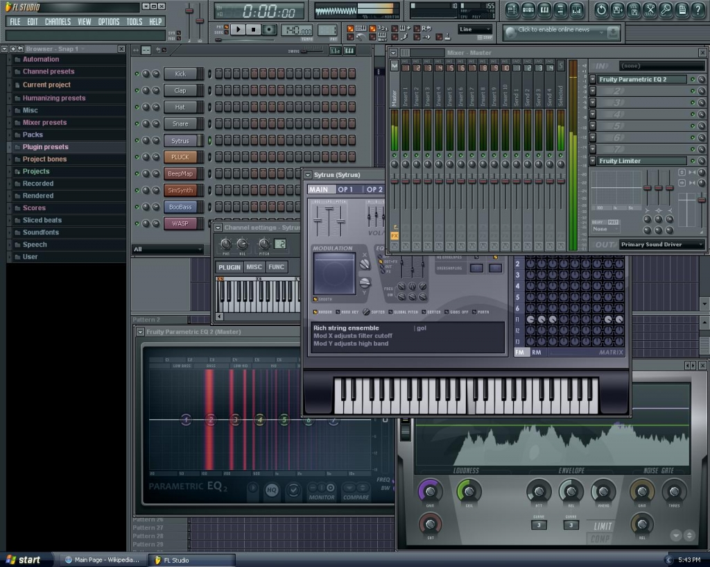 Fl studio 11 torrent - фото 4