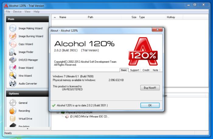 Alcohol 120 скачать торрентом
