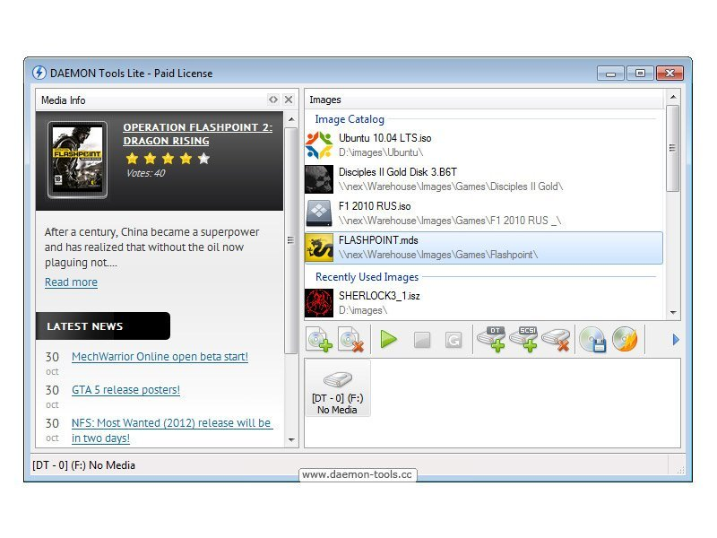 Для tools 10 daemon 7 bit на 64 русском windows