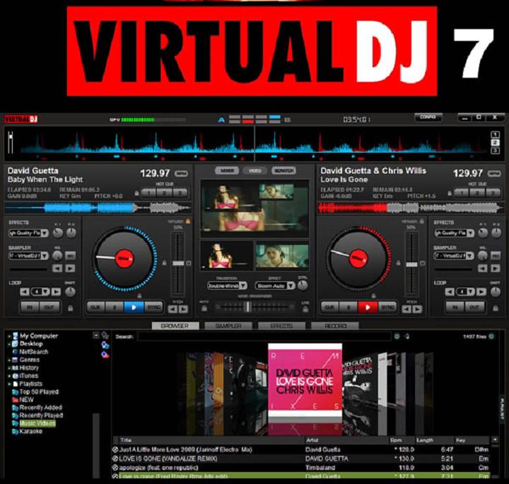 Free Virtual Home Design No Download: Virtual DJ: скачать бесплатно Virtual DJ HOME FREE для