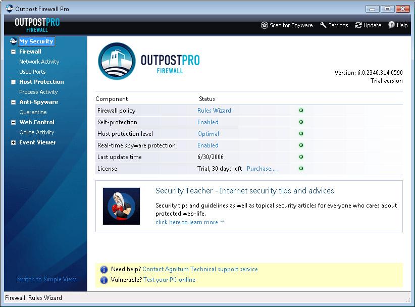 Outpost firewall скачать бесплатно
