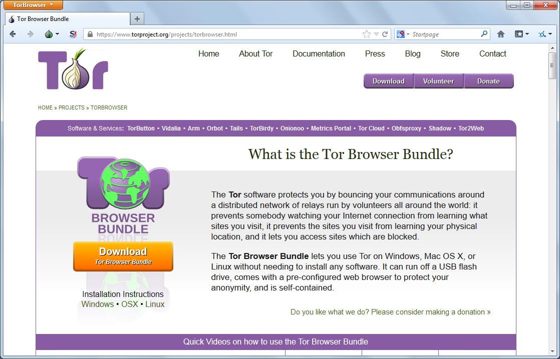 Скачать программу tor browser bundle бесплатно