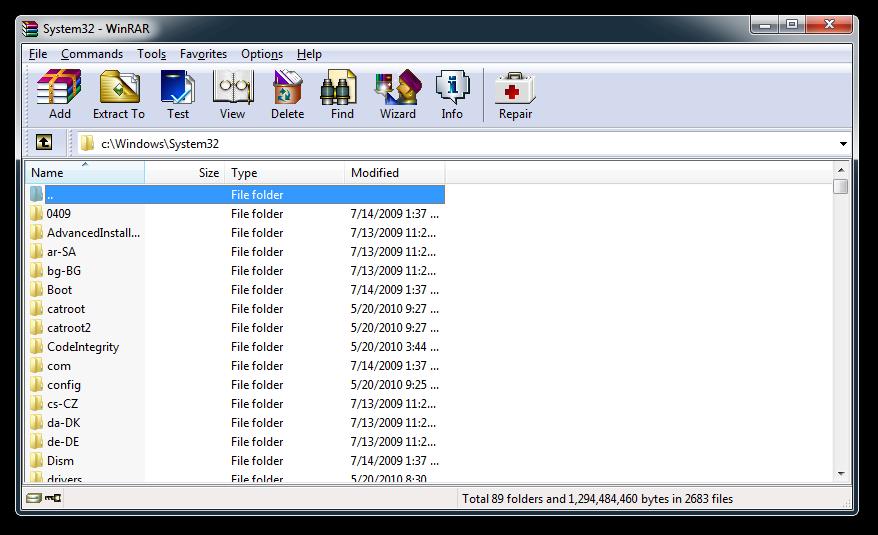 Основные возможности Создание архивов форматов RAR и ZIP.Распаковка файлов