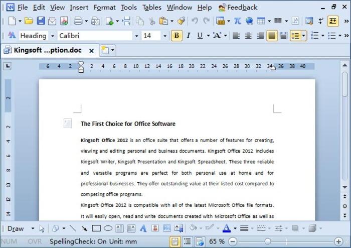 kingsoft-office-suite-screenshot-1