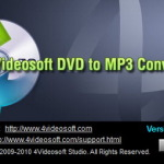4Videosoft DVD to MP3 Converter logo