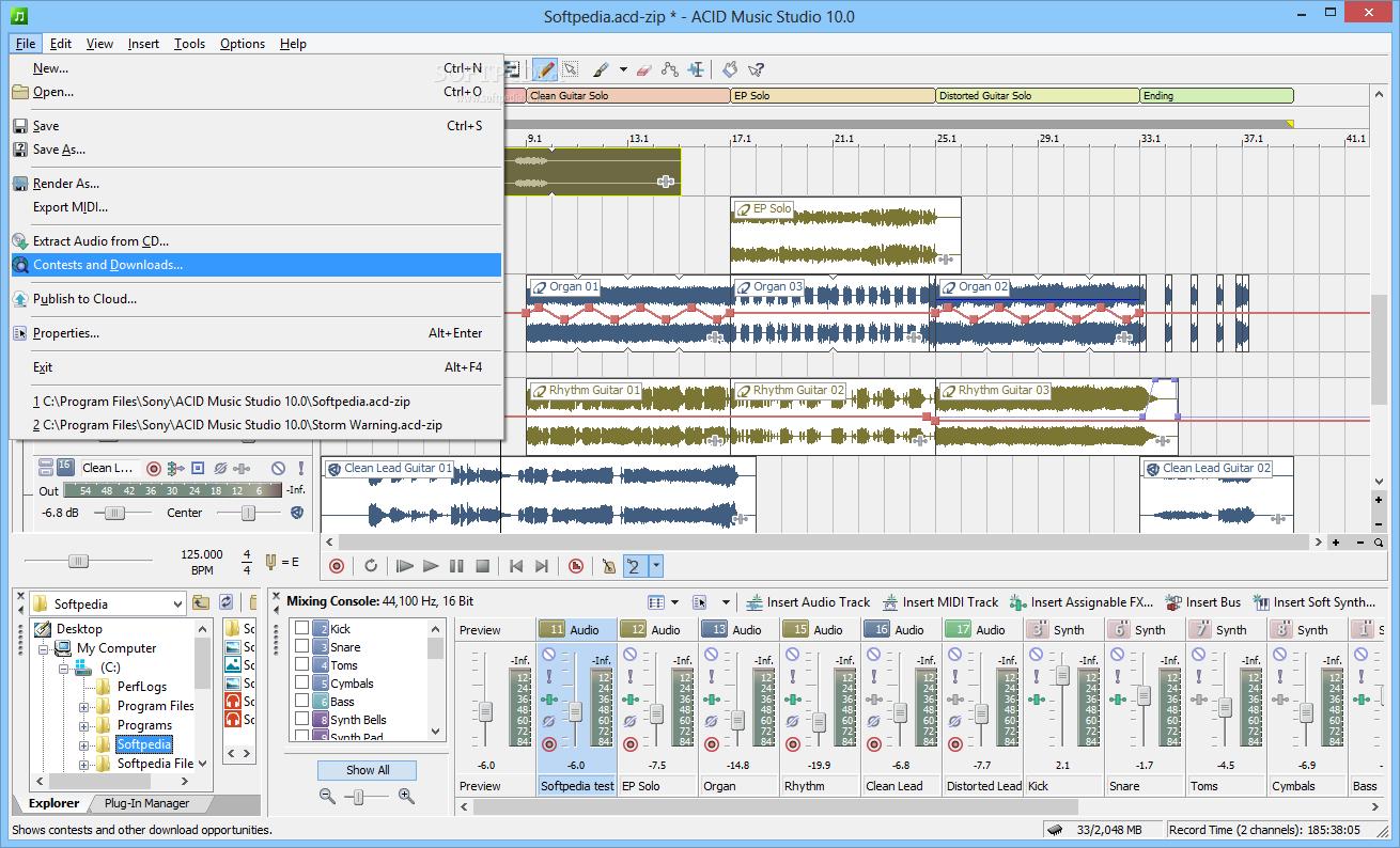 ACID Music Studio_3
