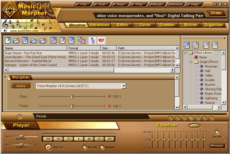 AV Music Morpher Gold_2