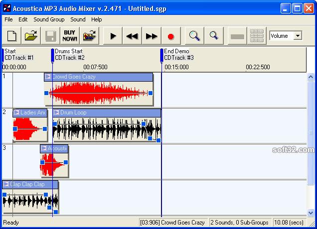 Acoustica MP3 Audio Mixer_2