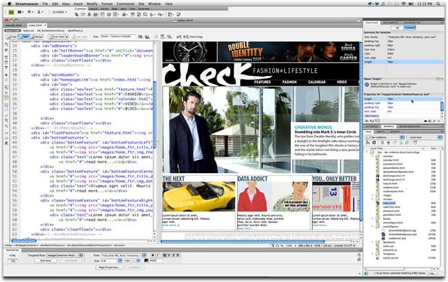 Adobe Dreamweaver 1