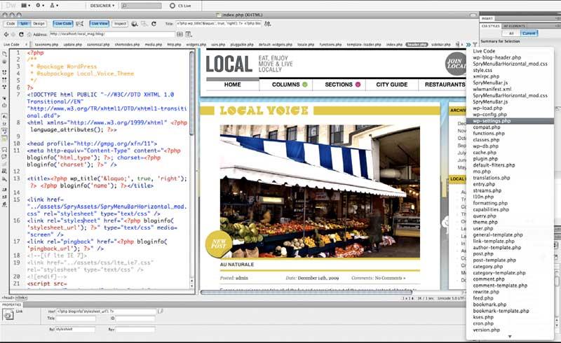 Adobe Dreamweaver 4