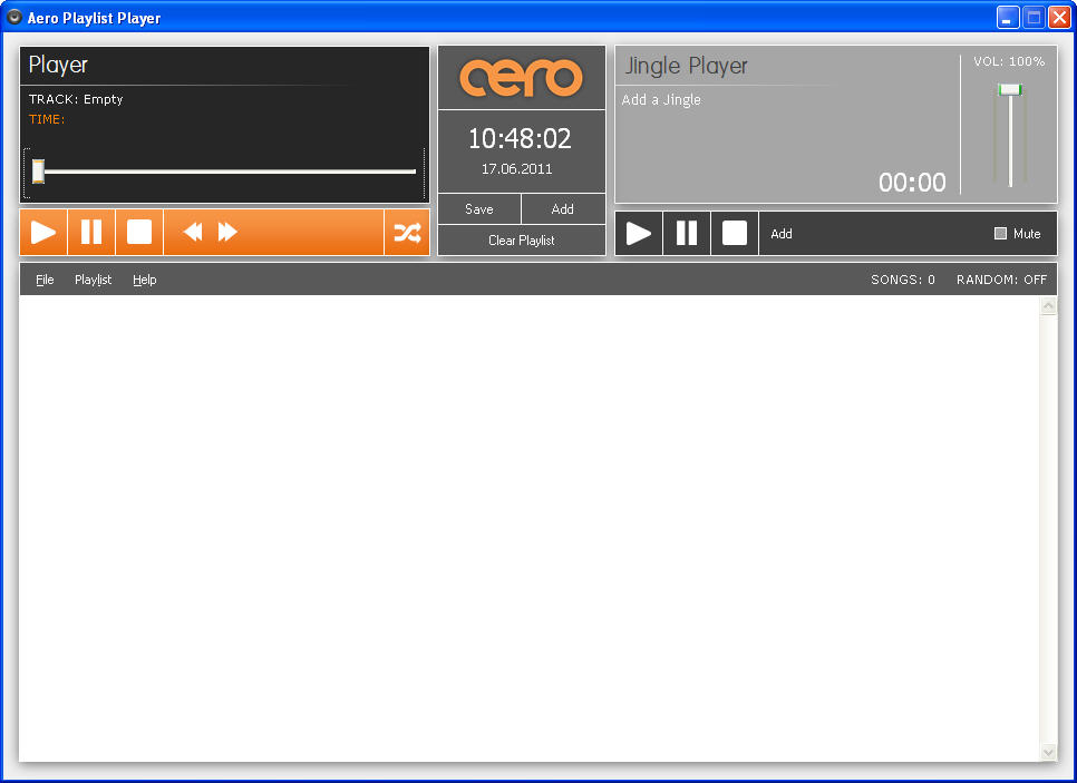 Aero Playlist Player_1