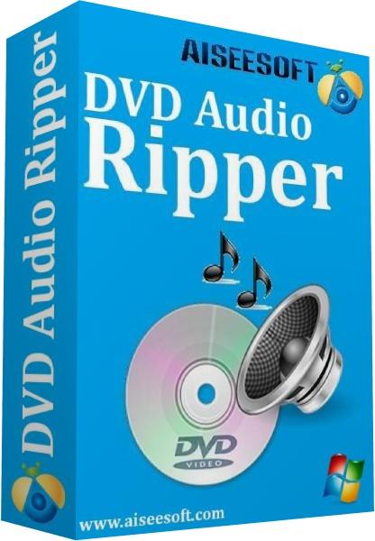 Aiseesoft DVD Audio Ripper logo