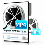 Bigasoft MP4 Converter logo