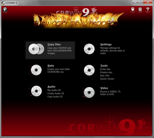 CDRWIN 2