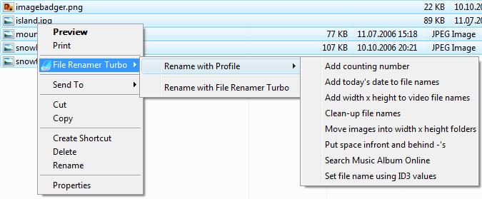 File Renamer Turbo 4