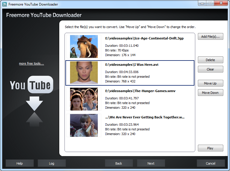 Freemore YouTube Downloader 1