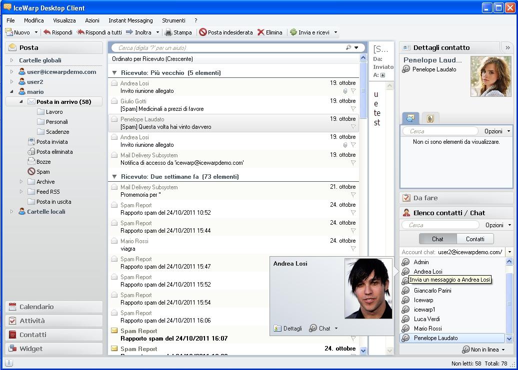 IceWarp Desktop Clien 1