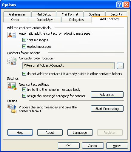 MAPILab Toolbox for Outlook 2