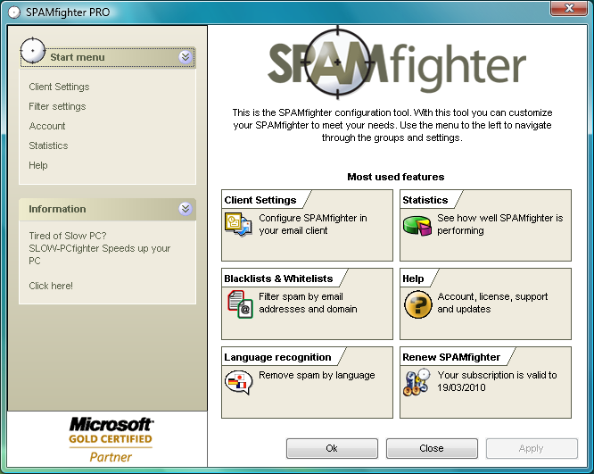 SPAMfighter 1