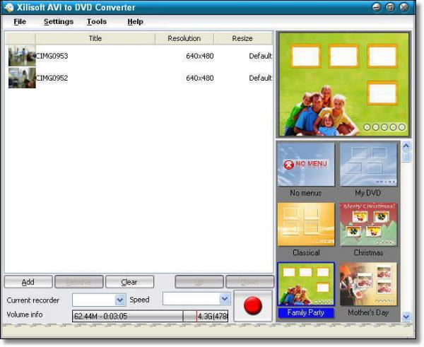 Xilisoft AVI to DVD Converter_1