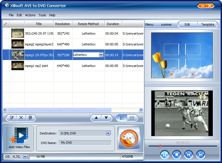 Xilisoft AVI to DVD Converter_2