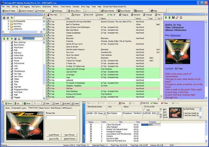 Zortam Mp3 Media Studio 3