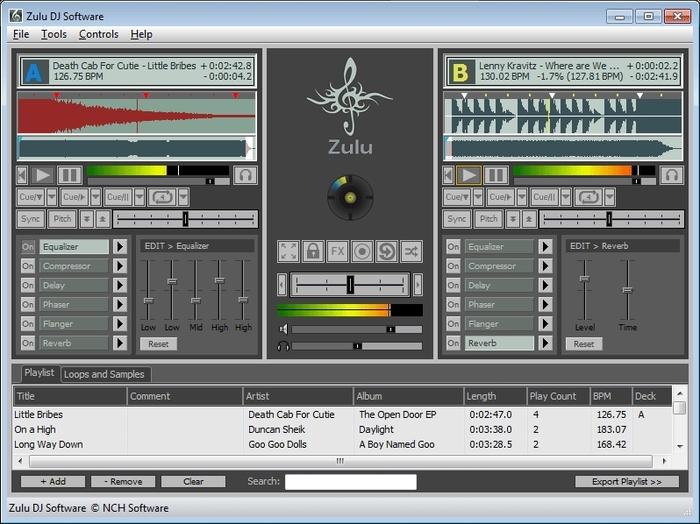Zulu DJ Software 1