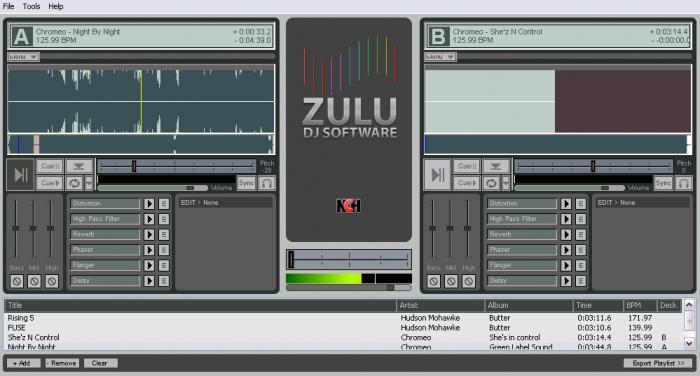 Zulu DJ Software logo