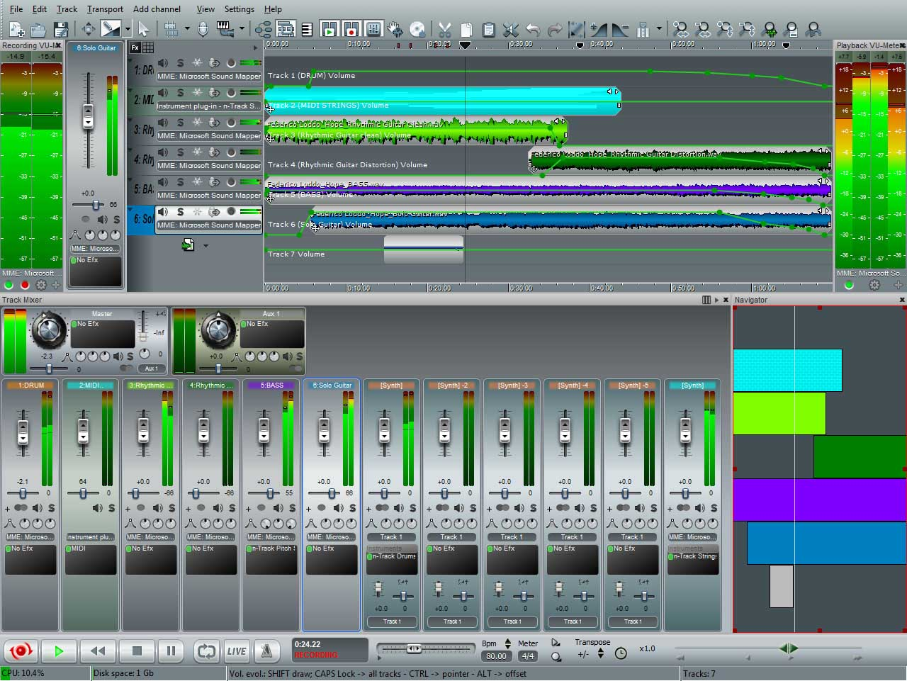 Скачать звукозаписывающую программу