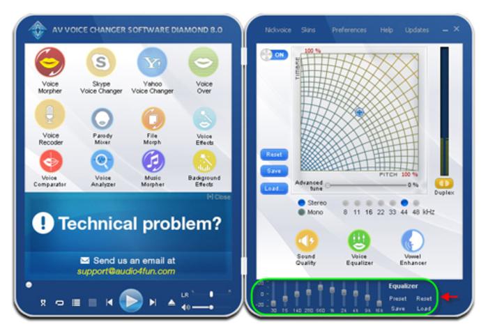 Av voice changer software diamond 9. 5. 30 download for windows.
