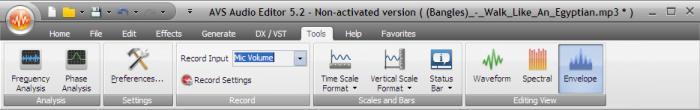AVS Audio Editor 3