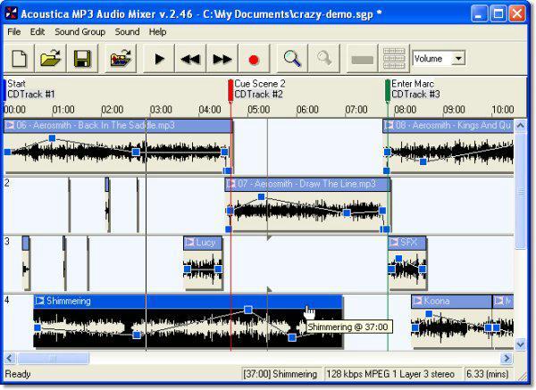 Acoustica MP3 Audio Mixer 2