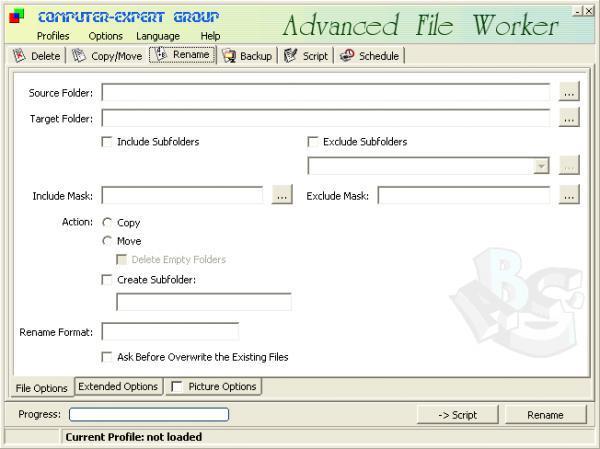 Advanced File Worker