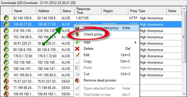 AiS AliveProxy Server