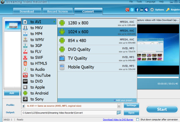 Aiseesoft Streaming Video Recorder 2
