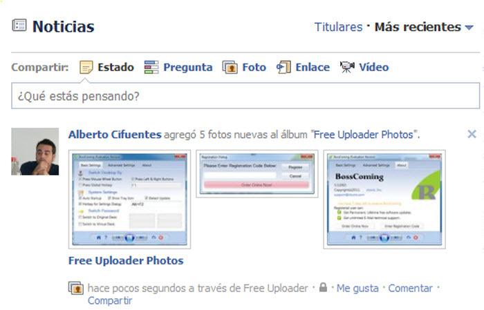 Free Uploader for Facebook 2