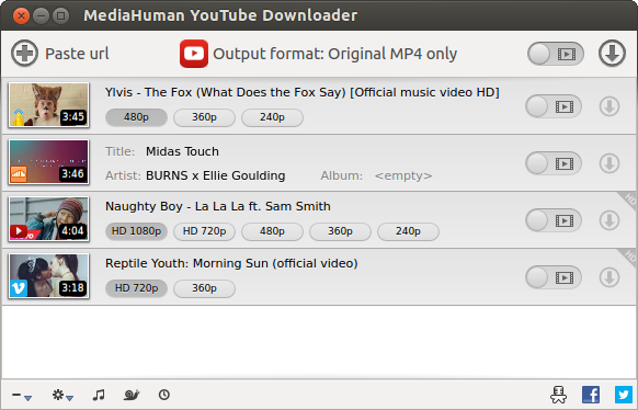 MediaHuman YouTube Downloader 2