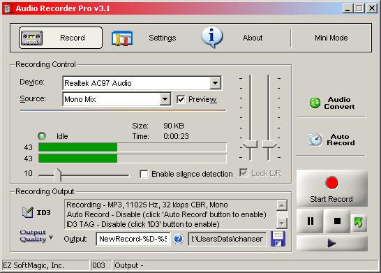 Telephone VOX Recorder 2