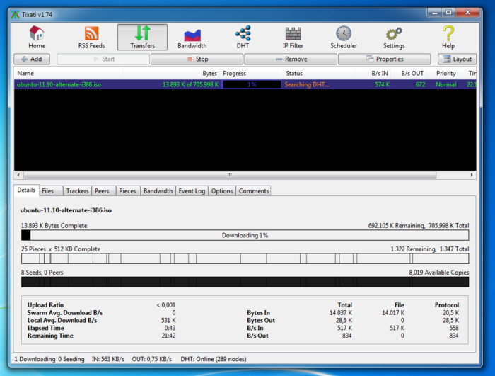 Tixati 2 Tixati 2.11 Download Last Update