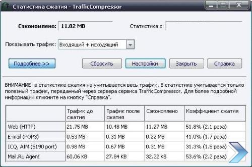 TrafficCompressor