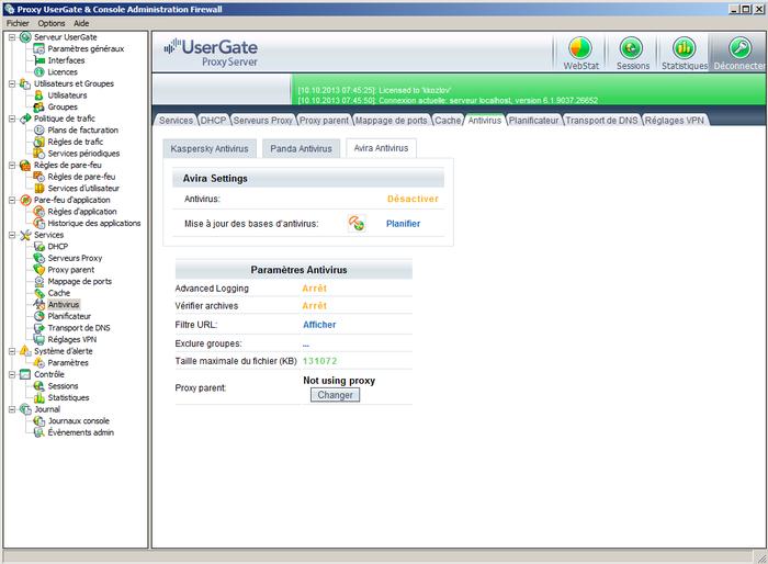 UserGate Proxy & Firewall 3
