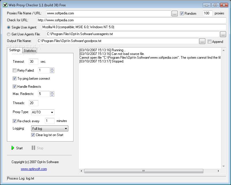Web Proxy Checker 2