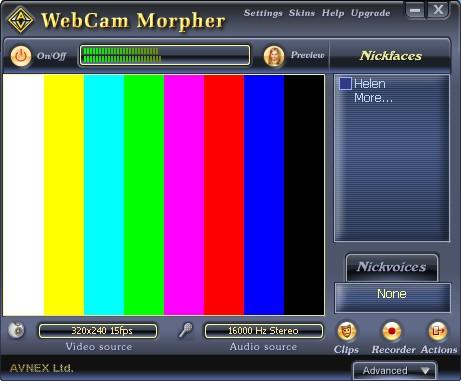 AV Webcam Morpher 2