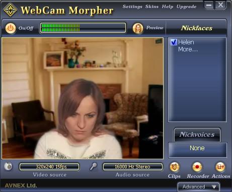 AV Webcam Morpher 3