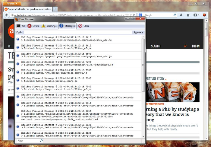 Bluhell Firewall
