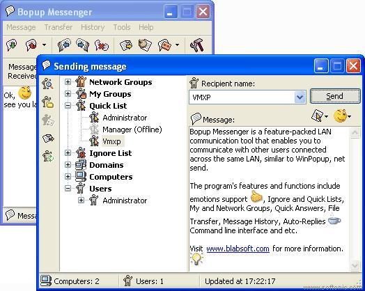 Bopup Messenger 2
