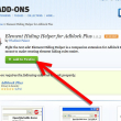 Element Hiding Helper для Adblock Plus