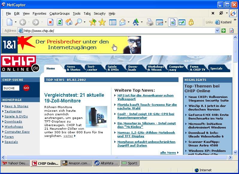 NetCaptor 3