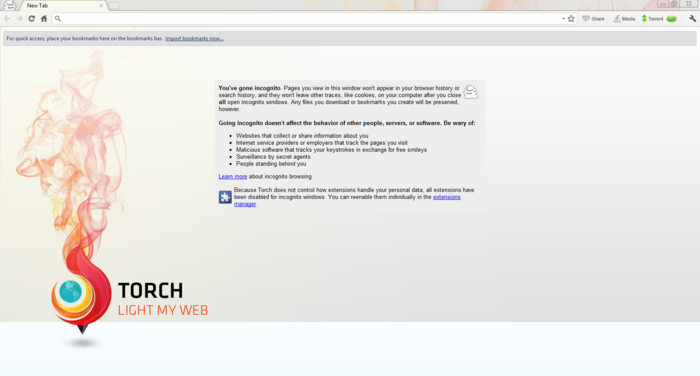 Torch Browser  2