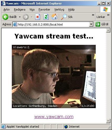 Yawcam 2